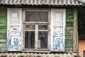 Old Chipped Windows
