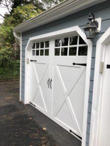 garage side before